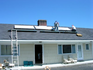 Solar Collector Installation